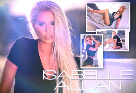 #HustleBootyTakeover: Isabelle Allan