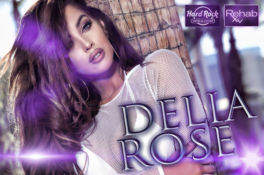Delia Rose at the Hard Rock Hotel and Casino Las Vegas