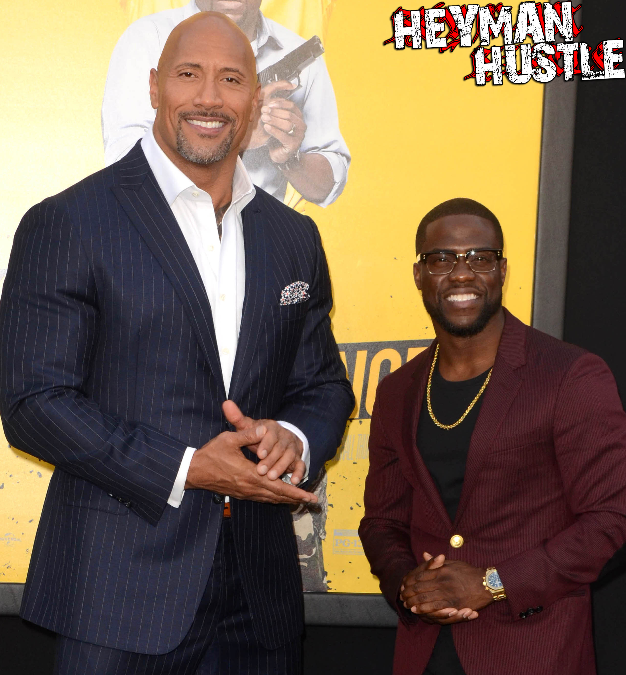 "Dwayne Johnson, Kevin Hartat the ""Central Intelligence"" Los Angeles Premiere, Village Theater, Westwood, CA 06-10-16/ImageCollect"