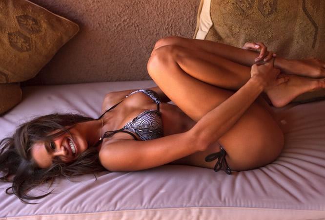 Irina shayk topless nude naked on the beach