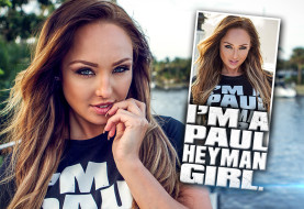 Danni King is a Paul Heyman Girl