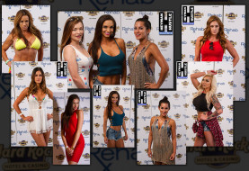 #HustleBootyTempTats Supermodels and DNCE on the Red Carpet at the Hard Rock Hotel and Casino Las Vegas' Rehab Pool