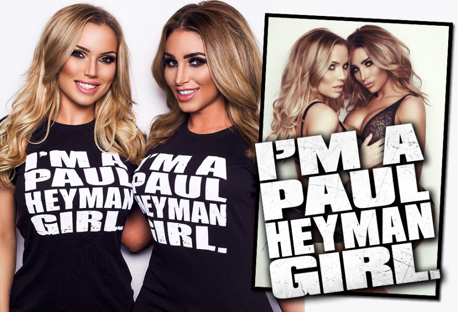 Paul Heyman Girls Electra Morgan and Jenny Laird Team Up For The Hottest Photo Session of 2015