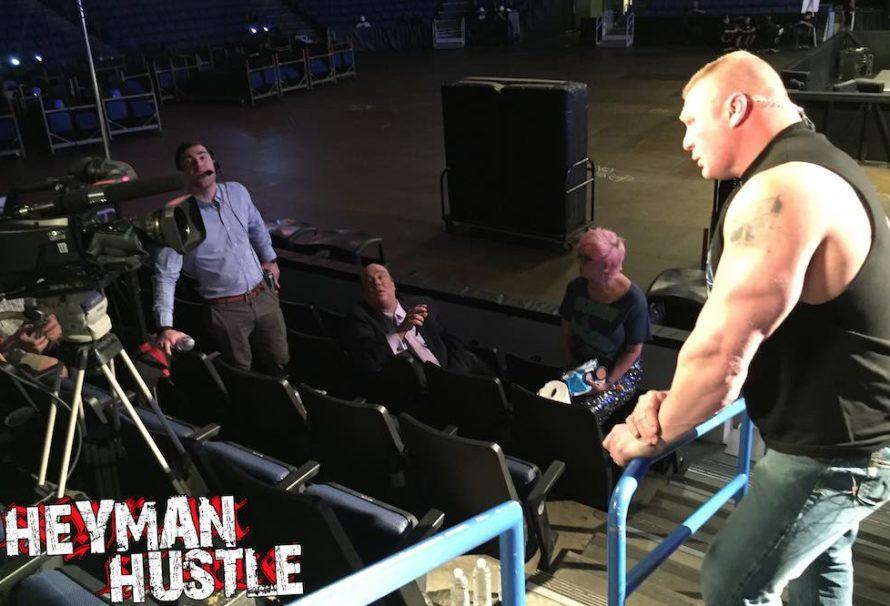 Behind The Scenes of Brock Lesnar's ESPN Interview ...