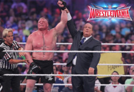 Brock Lesnar Conquers Dean Ambrose at WrestleMania 32