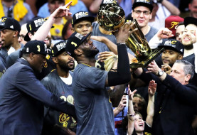 LeBron Leads The Cavs to Their First NBA Title