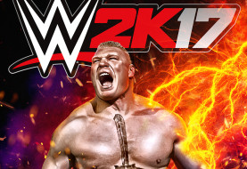 BROCK LESNAR ANNOUNCED FOR COVER OF WWE 2K17 VIDEO GAME