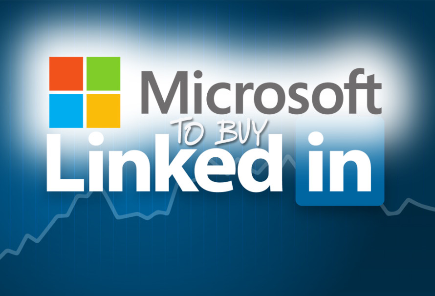 Microsoft To Buy LinkedIn For a Gazillion Dollars
