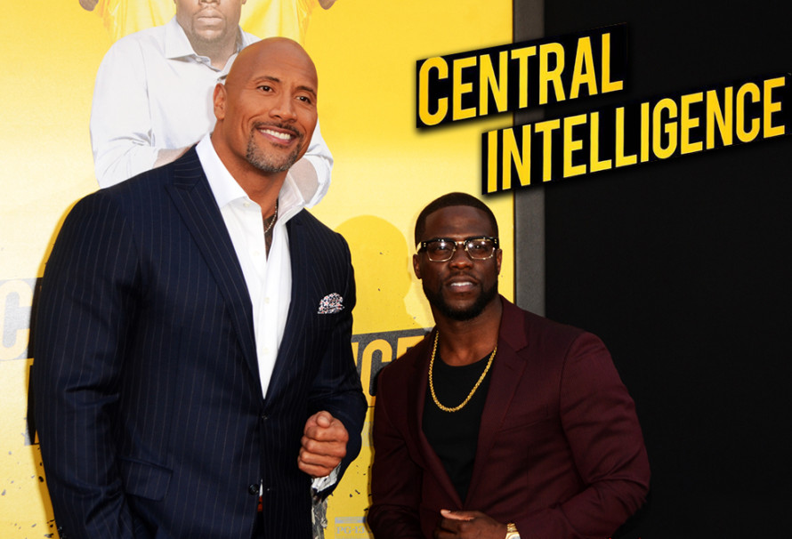 "The Rock and Kevin Hart Promote ""Central Intelligence"""