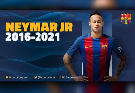 Neymar Signs Five Year Extension with Barcelona
