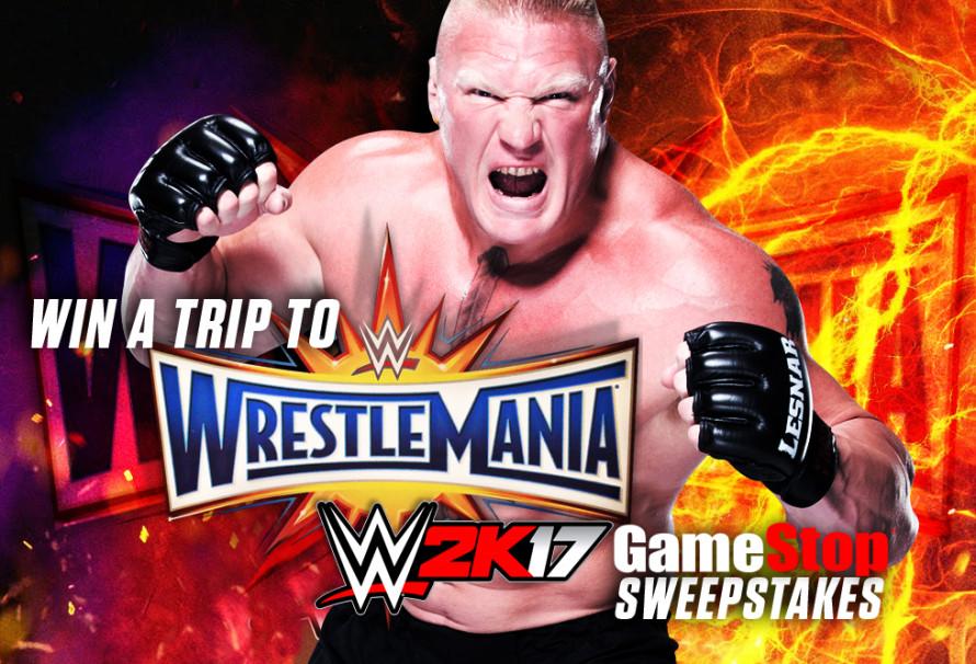 WIN A TRIP TO WWE WRESTLEMANIA!