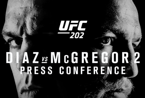 Check Out The UFC 202: Diaz Vs McGregor 2 Press Conference LIVE From Las Vegas