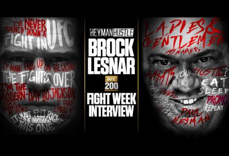 Brock Lesnar Tells Paul Heyman His Prediction For UFC 200
