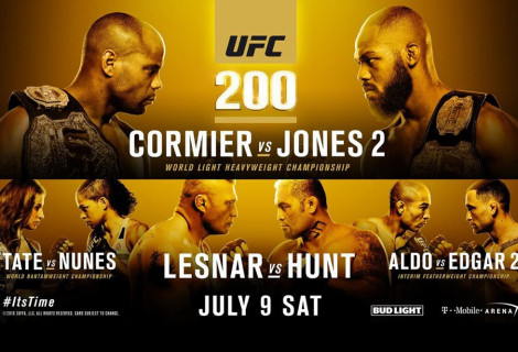 LIVE COVERAGE OF THE UFC 200 PRE-FIGHT PRESS CONFERENCE!