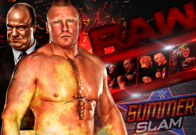 Brock Lesnar Takes Heath Slater to Suplex City