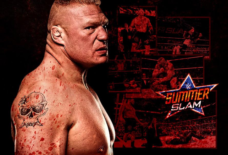 Brock Lesnar Conquers Randy Orton … and F5s Shane McMahon!
