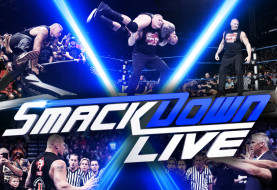 Brock Lesnar and Paul Heyman Invade WWE Smackdown Live as The Beast F5s Randy Orton