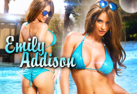 THE CHRISTOS FILES: Emily Addison's Sizzling Hot Bikini Shoot at The Hard Rock Hotel and Casino Las Vegas