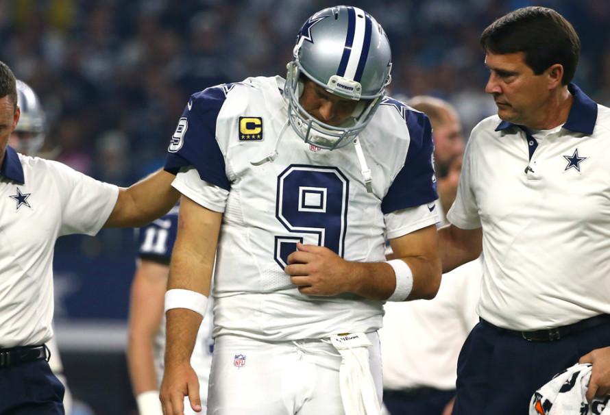Tony Romo's Broken Back Means Dak Prescott Will Step Into Role as Dallas Cowboys' Quarterback
