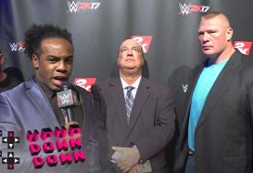 Xavier Woods Interviews Brock Lesnar and Paul Heyman