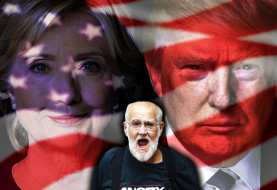 Hidden Camera Catches Angry Grandpa's Preview of Tonight's Presidential Debate