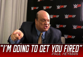 WWE 2K17 Interview Goes All Wrong as Paul Heyman Gets Annoyed with Interviewer in the UK