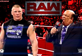 Brock Lesnar and Paul Heyman Talk About Goldberg as WWE Monday Night RAW is Live From Minneapolis