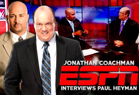 Jonathan Coachman Interviews Paul Heyman on ESPN