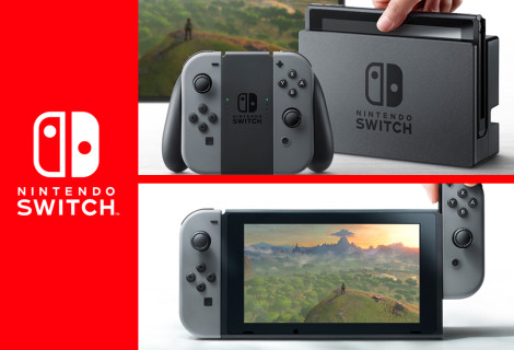 Darren Castro Gives You a First-Look at Nintendo Switch