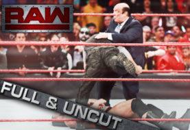 Full Complete Unedited Video of Goldberg Spearing Paul Heyman