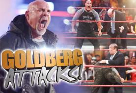 Goldberg Jackhammers Rusev, Spears Heyman