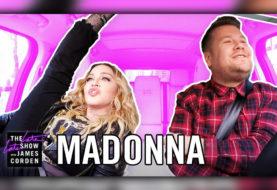 Madonna Does Carpool Karaoke