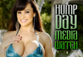 Lisa Ann Busts Out the Hump Day Media Watch
