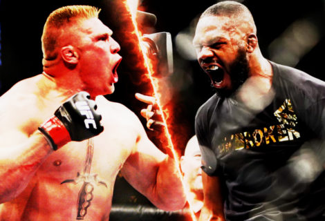 Damon Martin Reports: Jon Jones Wants to Fight Brock Lesnar