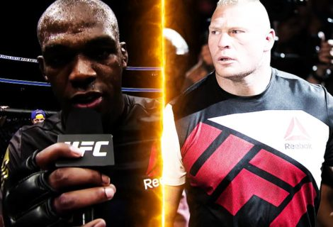 Jon Jones TKOs Daniel Cormier, Calls Out Brock Lesnar