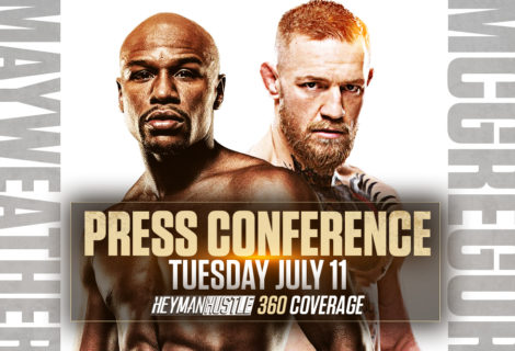 Live Coverage of the Mayweather Vs McGregor Press Conference Day 1 From Los Angeles