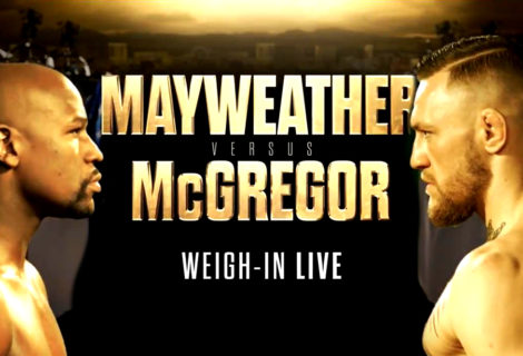 Showtime Offers Live Coverage of the Mayweather vs McGregor Weigh-Ins