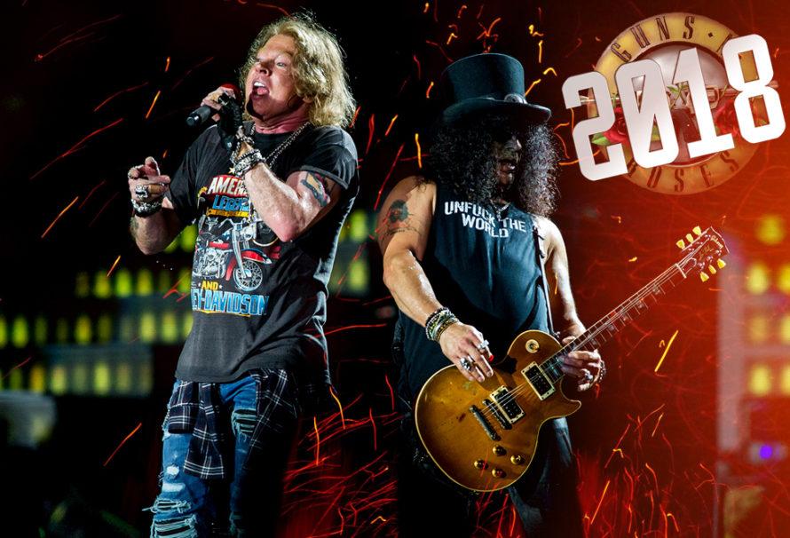 GNR Will Continue Rockin' in 2018