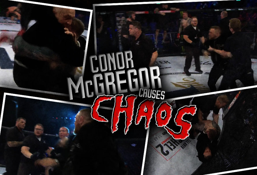 Conor McGregor Causes Chaos … at a Bellator Event