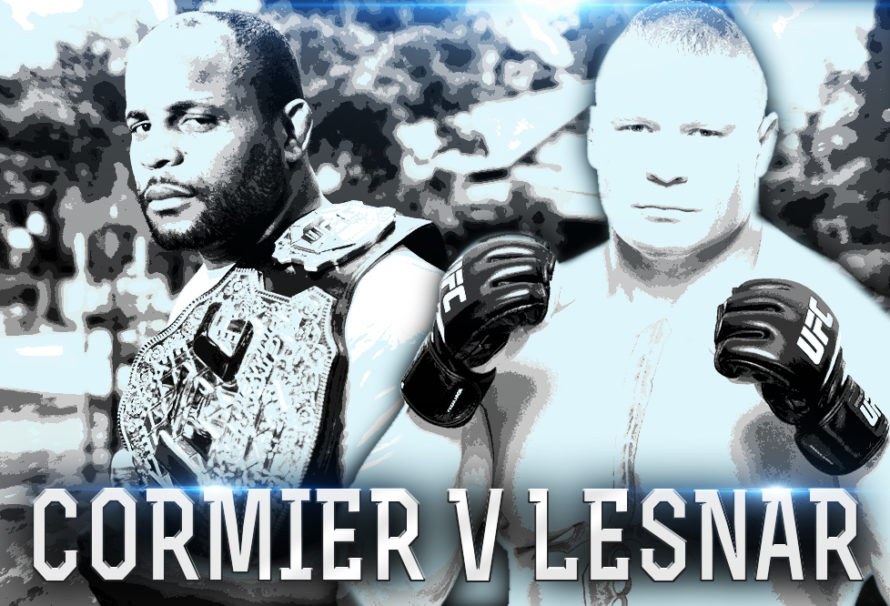 Cormier KOs Miocic For UFC Title, Gets Into Pull Apart with Brock Lesnar