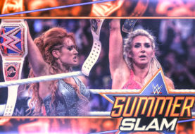 Hustle Photo Book: Charlotte Flair Wins the WWE Smackdown Women's Championship … and Becky Lynch is NOT Happy About It