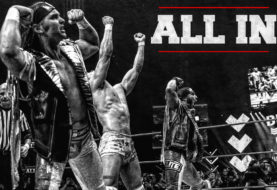 Hustle All-In Photo Book: Exclusive Photos of The Young Bucks and Kota Ibushi vs Rey Mysterio, Fenix and Bandido