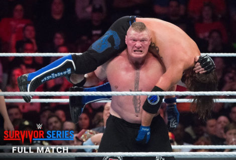 Relive Brock Lesnar vs AJ Styles From WWE Survivor Series 2017