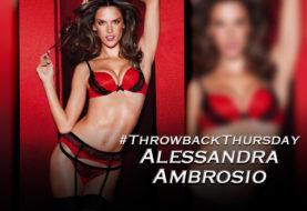 #ThrowbackThursday Worships Alessandra Ambrosio