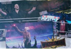 Hustle Photo Book: Baron Corbin Defeats Kurt Angle in Angle's Retirement Match at WrestleMania 35