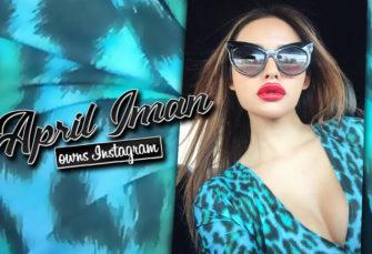 April Iman Owns Instagram