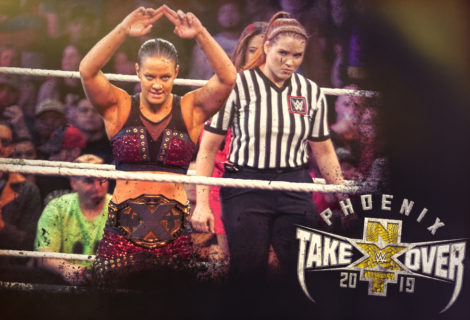 Hustle Photo Book: NXT Women's Champion Shayna Baszler Vs Bianca Belair NXT TakeOver: Phoenix