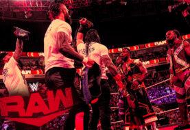 The Bloodline Crash Big E's WWE Title Celebration on WWE Monday Night RAW