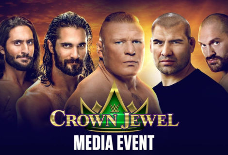 LIVE Coverage of WWE Crown Jewel Press Conference