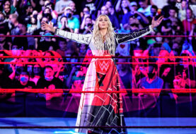 EXCLUSIVE Photos: Charlotte vs Shayna Baszler on WWE Monday Night RAW with Alexa Bliss Making Her Move with Lilly and Friend